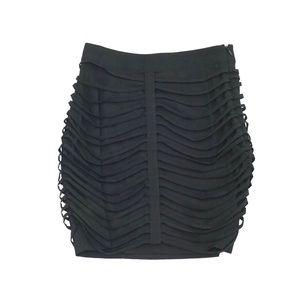 Lovers + Friends Mini Black Skirt